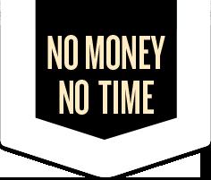 No Money No Time logo